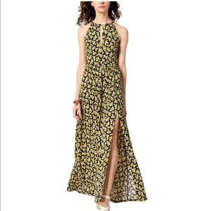 Michael Kors Floral Print Maxi Dress